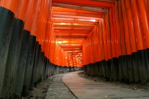 Orange gates